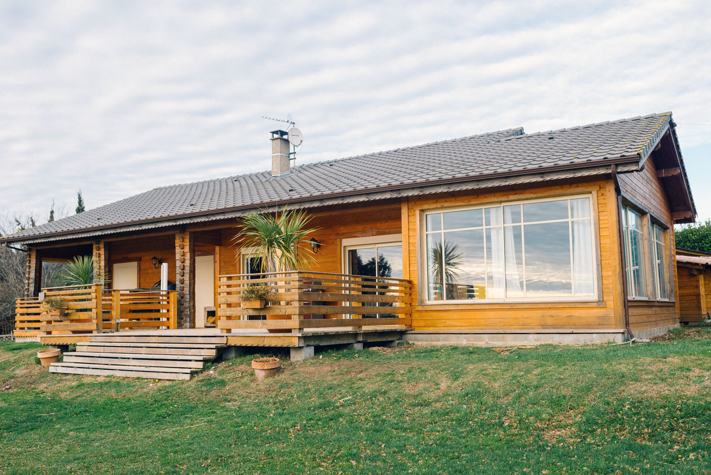 Saissac podreg maison en bois transivania france